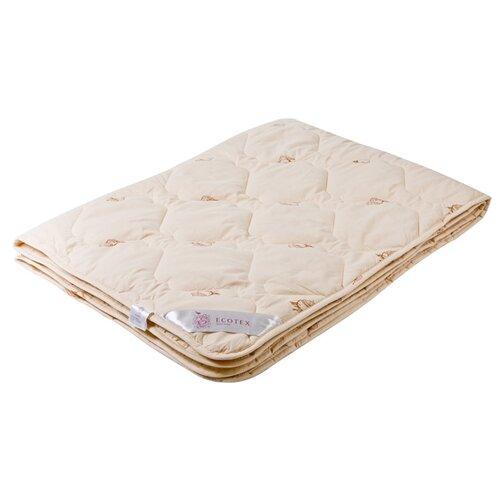 Одеяло ECOTEX Золотое руно облегченное бежевый 172 х 205 смОдеяла<br>