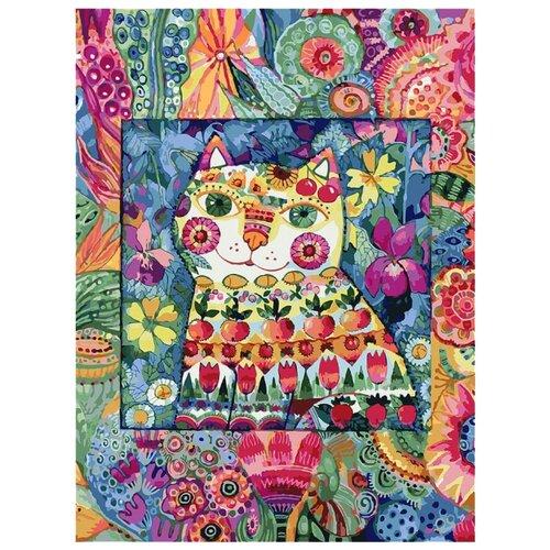 Купить Белоснежка Картина по номерам Кот в окошке 30х40 см (124-AS), Картины по номерам и контурам