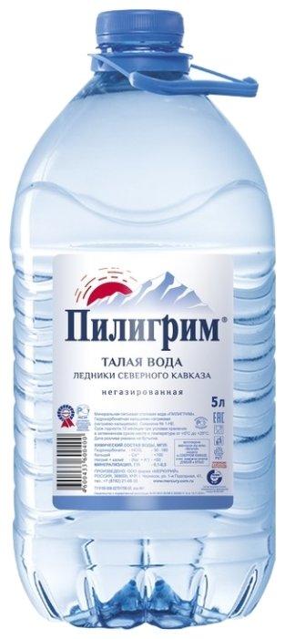 Минеральная питьевая вода Пилигрим негазированная, ПЭТ