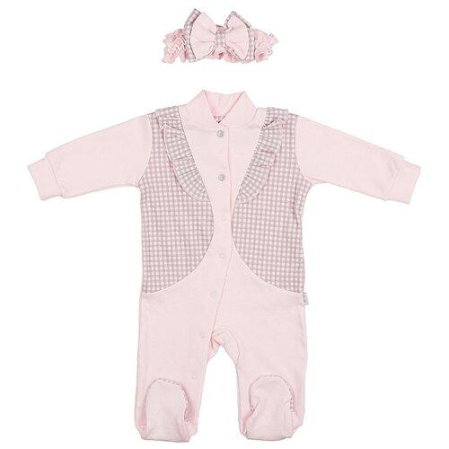 Купить Комплект одежды LEO размер 62, розовый, Комплекты
