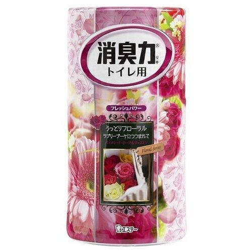 Shoshu-Riki дезодорант–ароматизатор для туалета c ароматом розовых цветов 400 мл