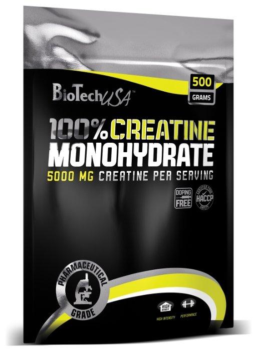 Креатин BioTech Creatine Monohydrate (500 г) мягкая упаковка