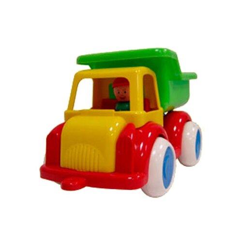 Купить Грузовик Форма Детский сад (С-64-Ф) 28.5 см красный/зеленый/желтый, Машинки и техника