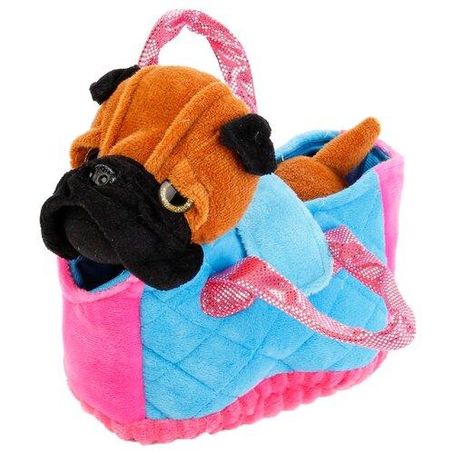 Мягкая игрушка Мульти-Пульти My friends Собачка в сумке 17 см в пакетеМягкие игрушки<br>