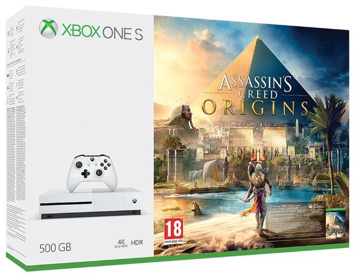 Игровая приставка Microsoft Xbox One S 500 ГБ