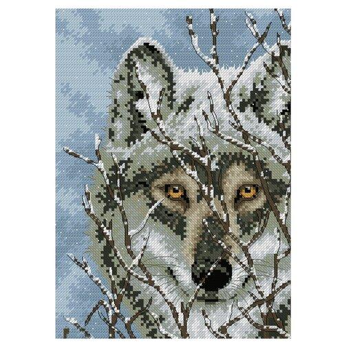 Купить Dimensions Набор для вышивания крестиком Wolf 12, 7 х 17, 7 см (65131), Наборы для вышивания
