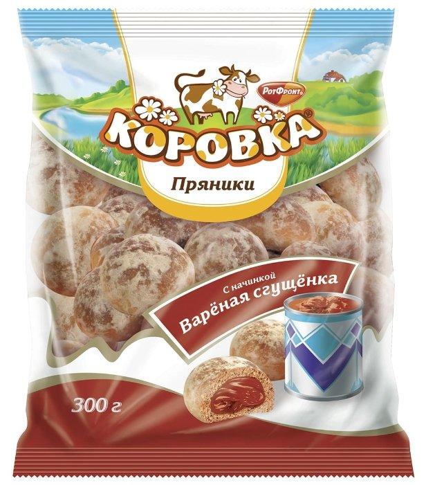 Пряники Коровка с начинкой Варёная сгущёнка 300 г