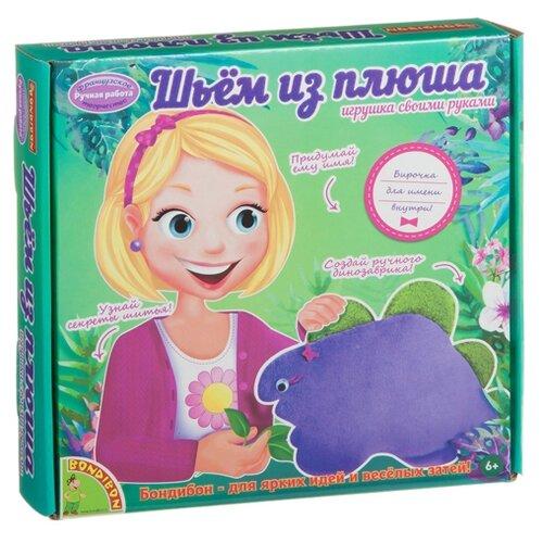 Купить BONDIBON Набор для шитья Шьем из плюша Динозаврик (ВВ1558), Изготовление кукол и игрушек