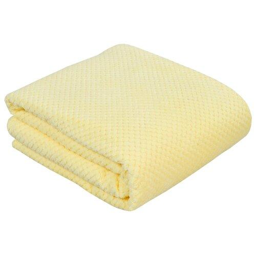 Фото - Покрывало Guten Morgen коралфлис жаккард Мимоза, 150 х 200 см, желтый плед guten morgen гортензия 150