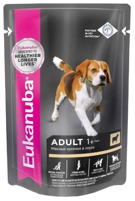 Корм для собак Eukanuba для здоровья кожи и шерсти, ягненок 100г
