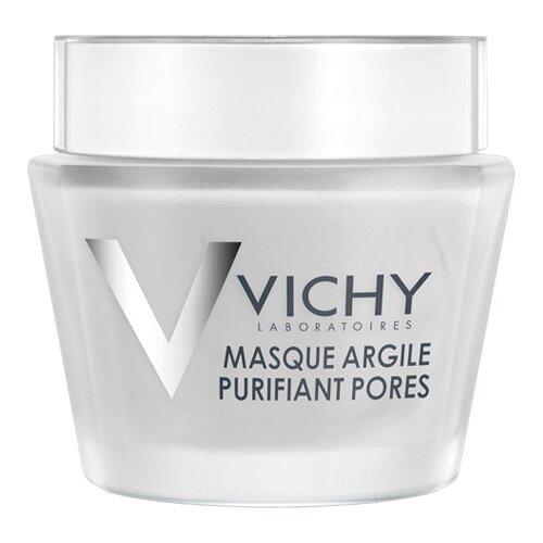 Vichy минеральная очищающая поры маска с глиной, 75 мл фото