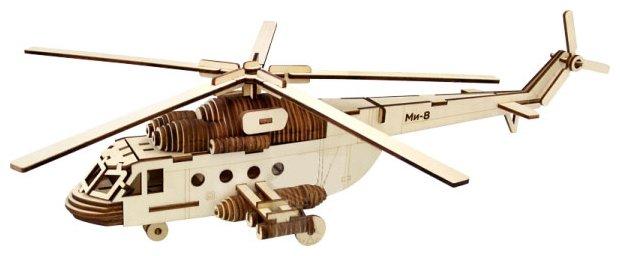 Сборная модель Чудо-Дерево Вертолет Ми-8 (80079),,