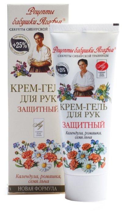 Крем-гель для рук Рецепты бабушки Агафьи Защитный