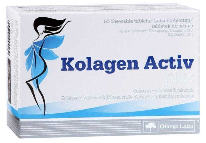 Препарат для укрепления связок и суставов Olimp Kolagen Active Plus