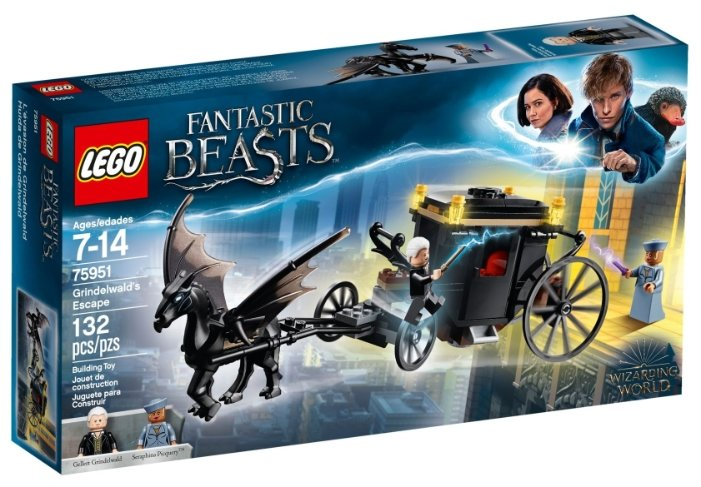 Конструктор LEGO Harry Potter 75951 Побег Грин-де-Вальда