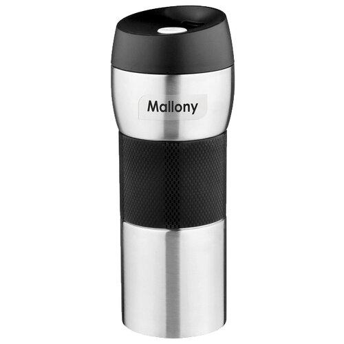 Термокружка Mallony Turistica, 0.45 л серебристый