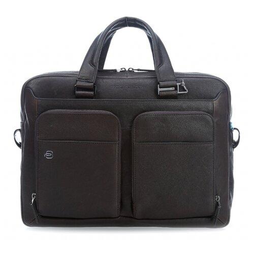 Сумка PIQUADRO CA2849B3 темно-коричневый кожаные сумки piquadro ca2849b3 ve
