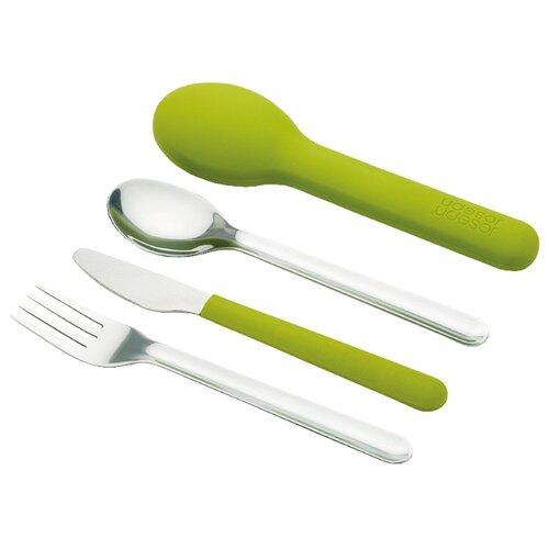 Joseph Joseph Набор столовых приборов GoEat Cutlery Set, 3 шт. зеленый набор столовых приборов easy camp folding cutlery складной 5 предметов