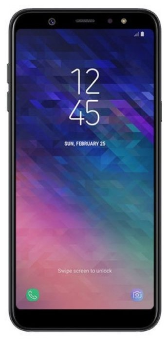 Смартфон Samsung Galaxy A6 32GB черный (SM-A600FZKNSER)