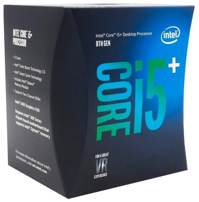 Intel Процессор Intel Core i5-8400 Coffee Lake (2800MHz, LGA1151 v2, L3 9216Kb)