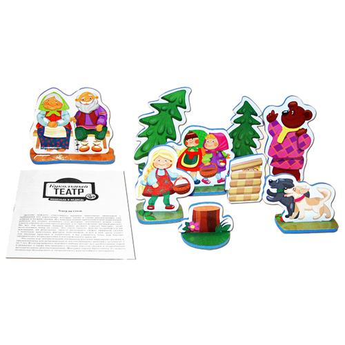 Купить Десятое королевство Театр настольный кукольный Машенька и Медведь (01341), Кукольный театр