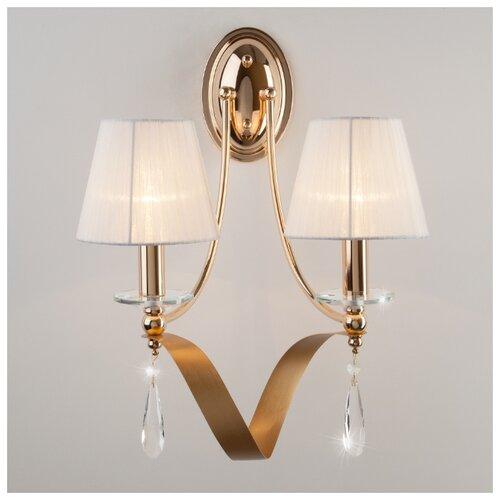 Фото - Настенный светильник Eurosvet Adelia 60063/2 золото, 80 Вт люстра eurosvet 60063 6 золото