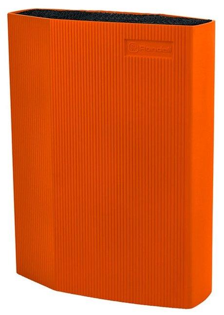 Универсальная подставка для ножей Rondell RD-470 пластик оранжевый