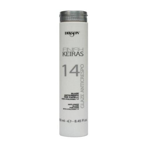 Dikson Keiras Finish глазурь для укладки Glaze Anticrespo 14, 250 мл
