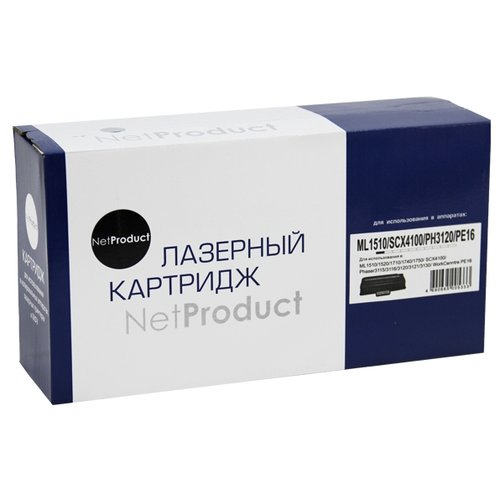 Фото - Картридж Net Product N-ML-1710D3, совместимый картридж net product n ml 1710d3 совместимый