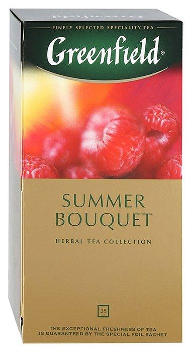 Чай GREENFIELD Summer Bouquet, фруктовый, пакетированный, 25 пак/уп