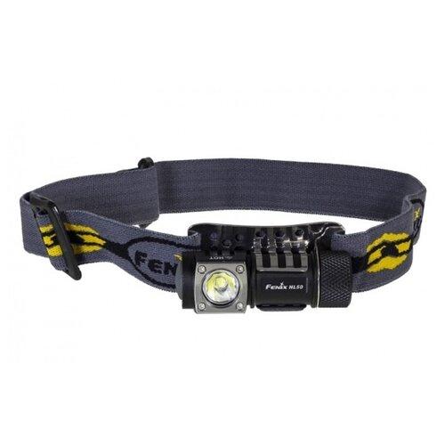 цена на Налобный фонарь Fenix HL50 черный