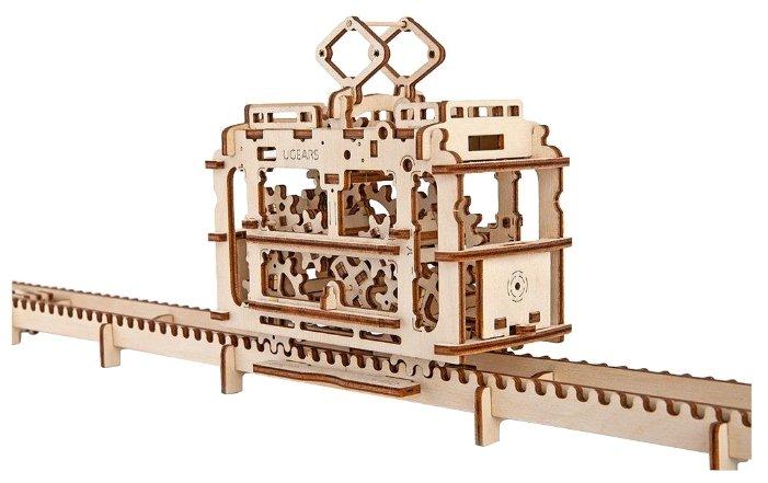 Сборная модель UGEARS Трамвай,