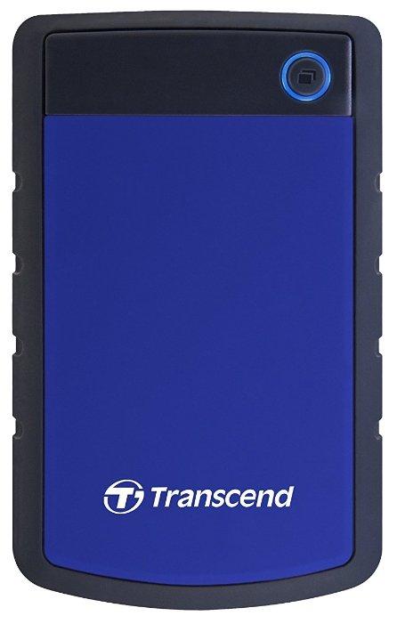 Внешний HDD Transcend StoreJet 25H3P ... — купить по выгодной цене на Яндекс.Маркете