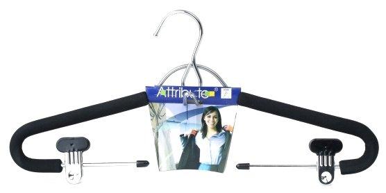 Вешалка для костюма EVA BLACK 42см ATTRIBUTE HANGER AHM191
