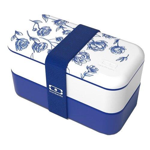 Monbento Ланч-бокс Original синий/белый ланч бокс zero для салатов синий синий