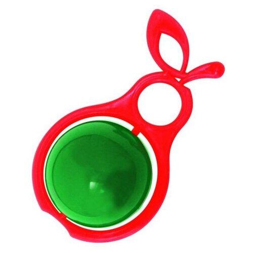 Погремушка Аэлита Груша красный/зеленый аэлита погремушка ромашка цвет розовый