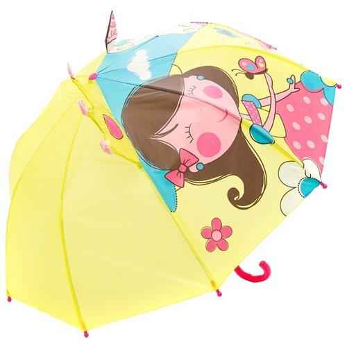 Зонт Mary Poppins желтый