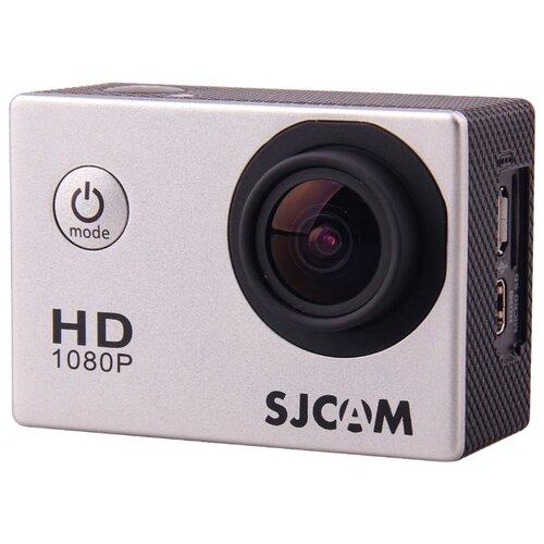 Экшн-камера SJCAM SJ4000 серебристый экшн камера sjcam sj8 pro full box белый