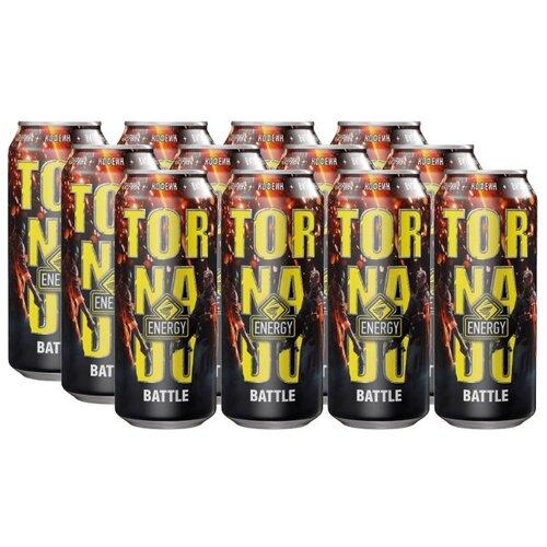Энергетический напиток Tornado Energy Battle, 0.45 л, 12 шт.