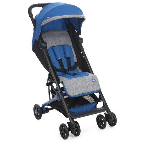 Прогулочная коляска Chicco Miinimo, power blue прогулочная коляска chicco trolleyme lollipop
