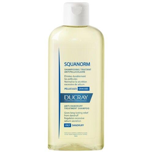 Фото - Ducray шампунь Squanorm Oily Dandruff 200 мл ducray физиологический защитный шампунь сенсинол 200 мл ducray шампуни для частого применения