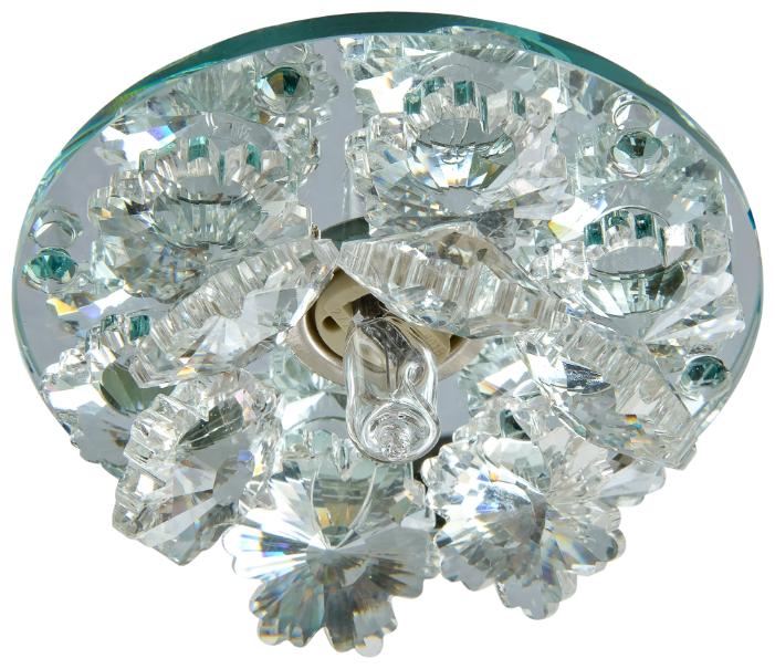Встраиваемый светильник De Fran FT 9311 CL, зеркальный / прозрачный