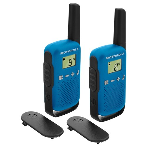 Рация Motorola Talkabout T42 Twin Pack синий/черный
