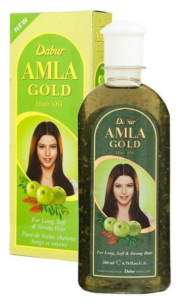 Dabur Amla Золотое масло для волос