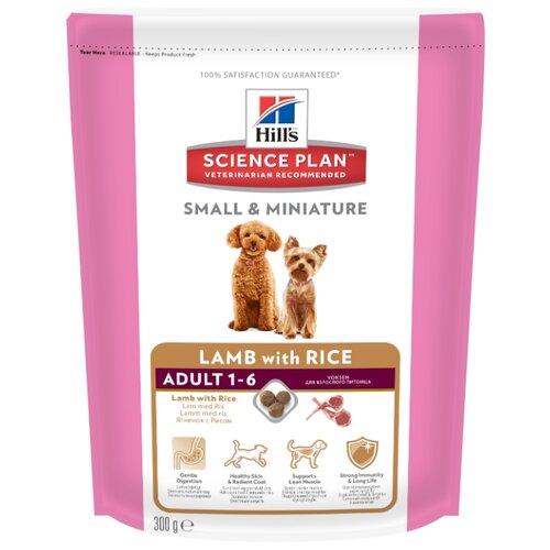 Корм для собак Hills (0.3 кг) Science Plan Canine Adult Small & Miniature Lamb with RiceКорма для собак<br>