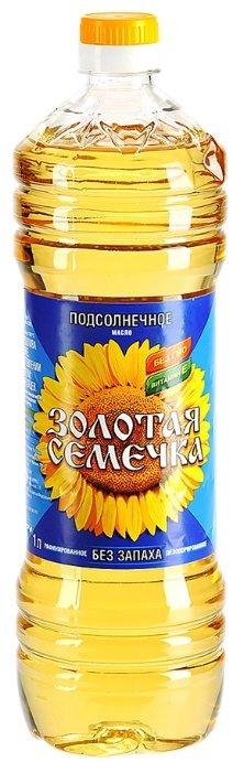 Золотая Семечка Масло подсолнечное без запаха 0.5 л
