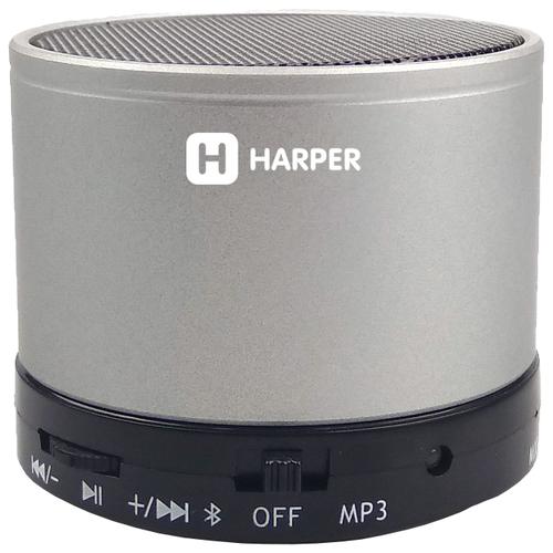 Купить Портативная акустика HARPER PS-012 светло-серый