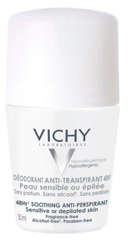 Дезодорант-интиперспирант ролик Vichy Для чувствительной кожи