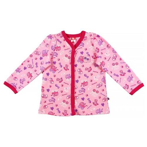 Распашонка cherubino размер (062)-40, розовыйРаспашонки<br>