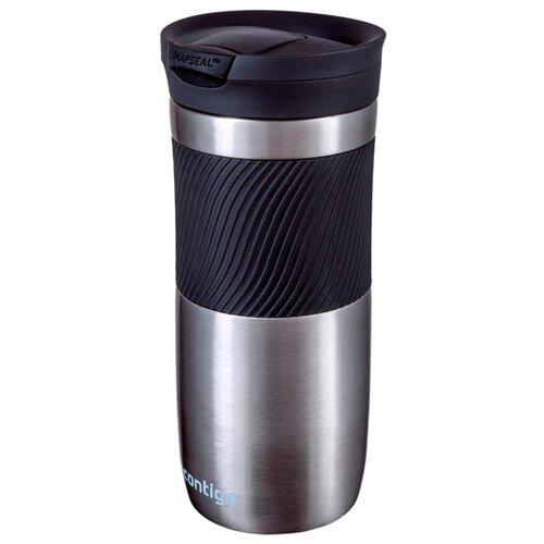 Термокружка Contigo Byron (0,47 л) серый металлик термокружка 0 47 л contigo metra 0621